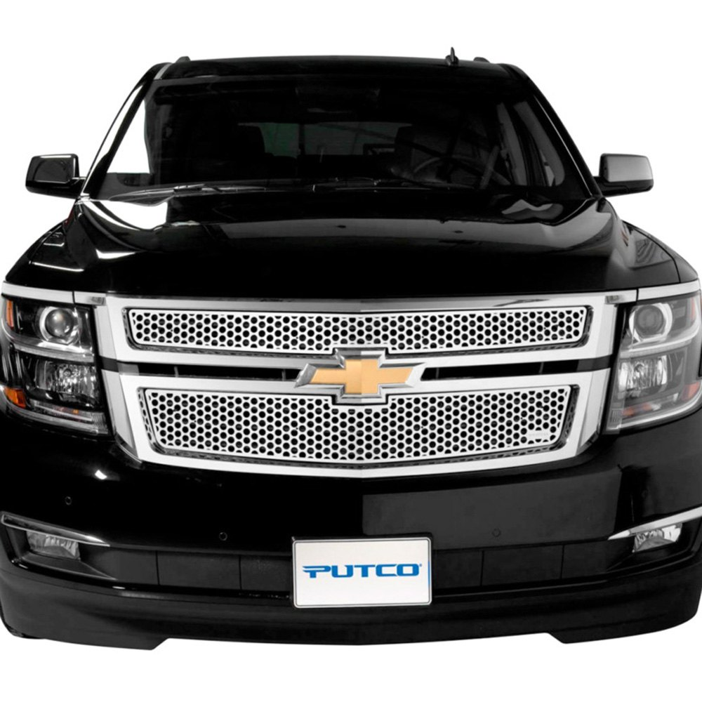 putco 84203 chevy tahoe 2016 punch grille insert. Black Bedroom Furniture Sets. Home Design Ideas