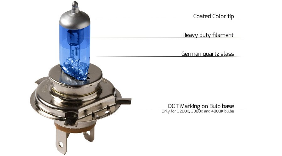 Putco Halogen Bulb Features