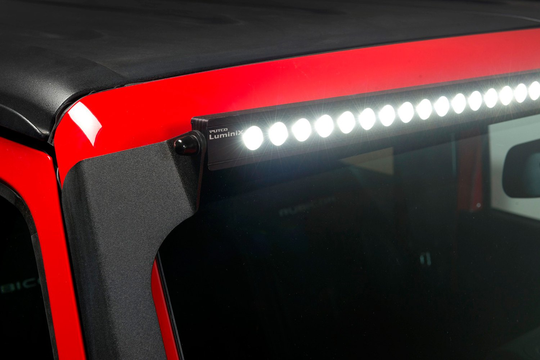 putco jeep wrangler 2007 windshield frame mounts for 50. Black Bedroom Furniture Sets. Home Design Ideas
