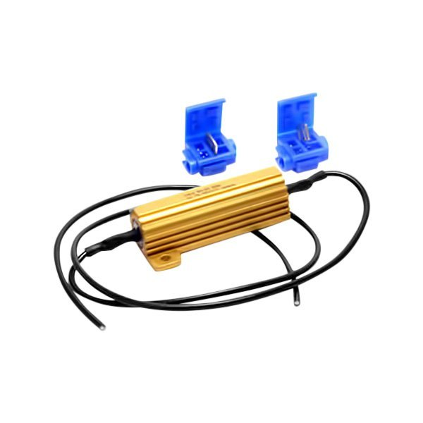 Putco 174 230004a Aluminum Led Light Bulb Load Resistor Kit