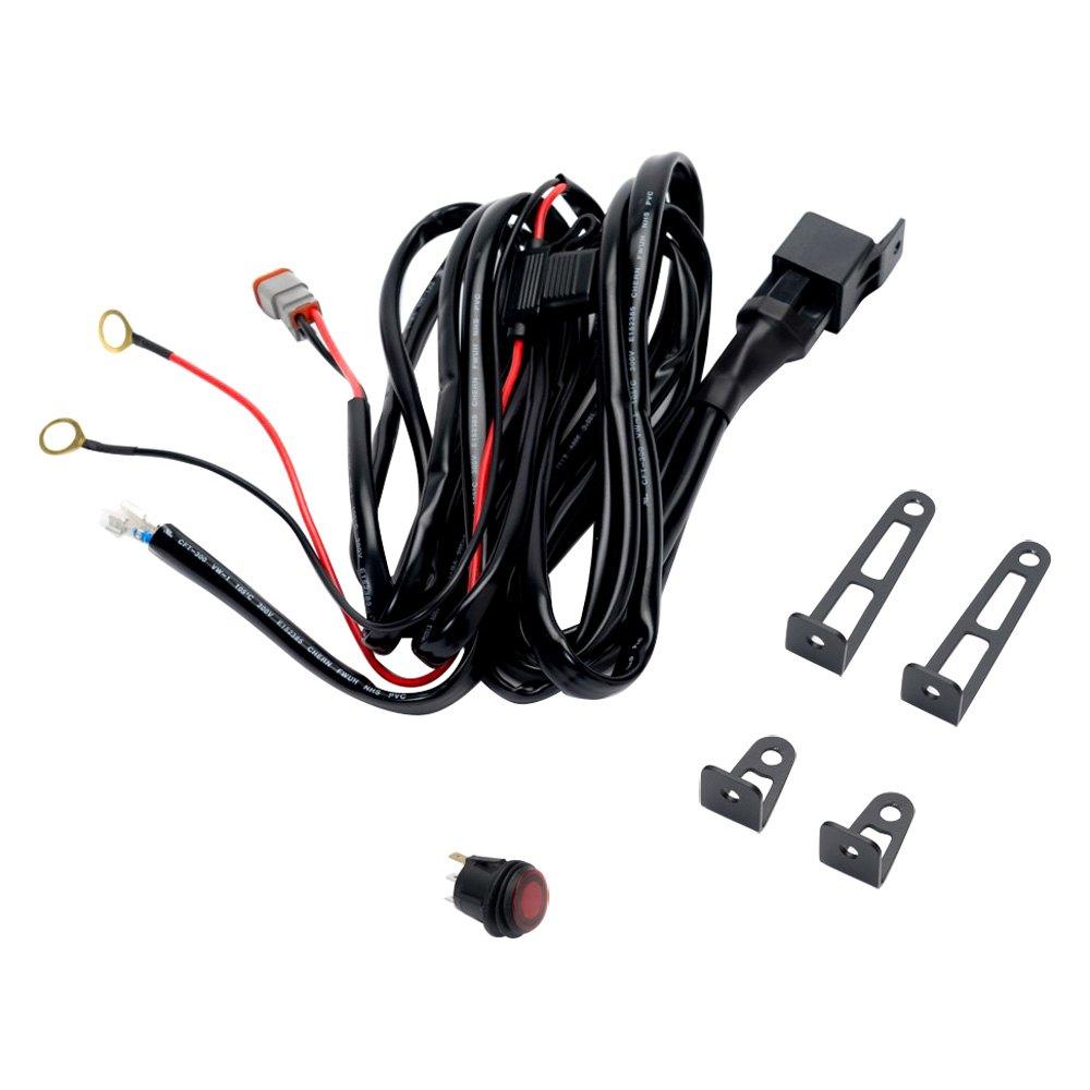 Putco Wiring Harness Xj : Putco wiring harness for luminix led light bar