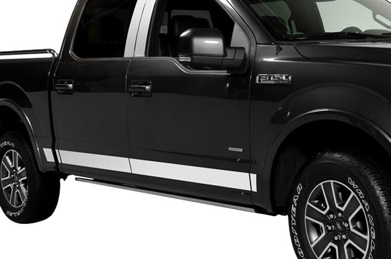Putco ford f 150 2011 rocker panel covers for Ford f 150 exterior accessories