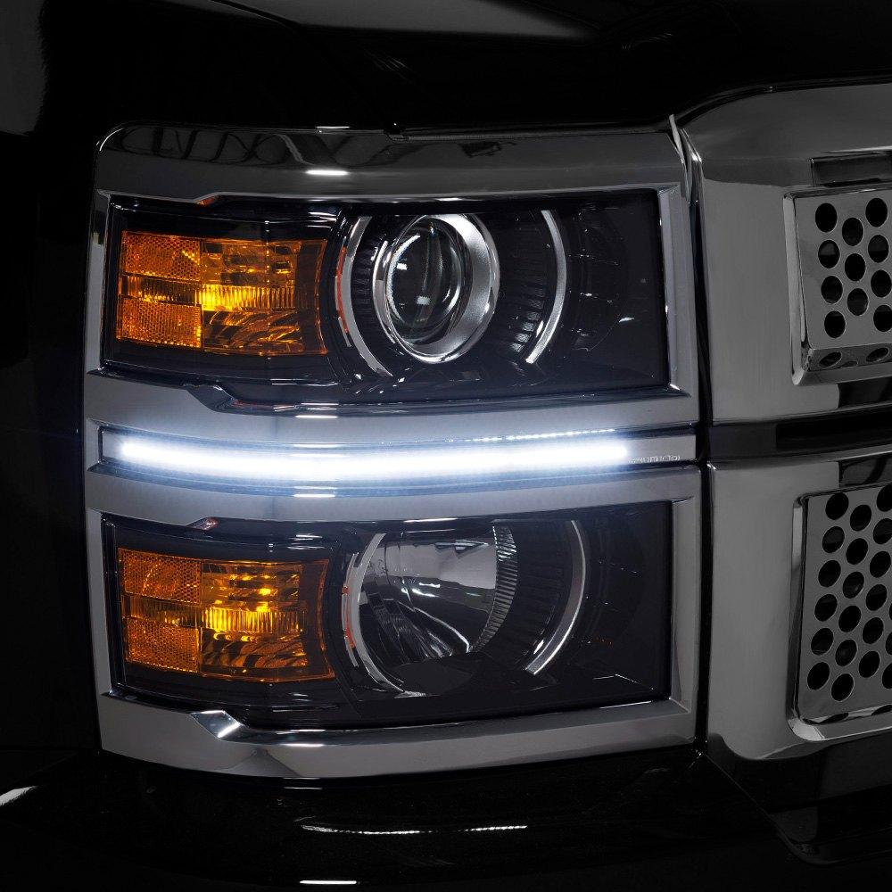 Silverado Led Lights : Putco® - Chevy Silverado 2015 LED Dayliners G3