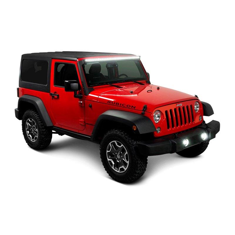 Putco 174 Jeep Wrangler 2007 2016 50 Quot Curved Luminix Single
