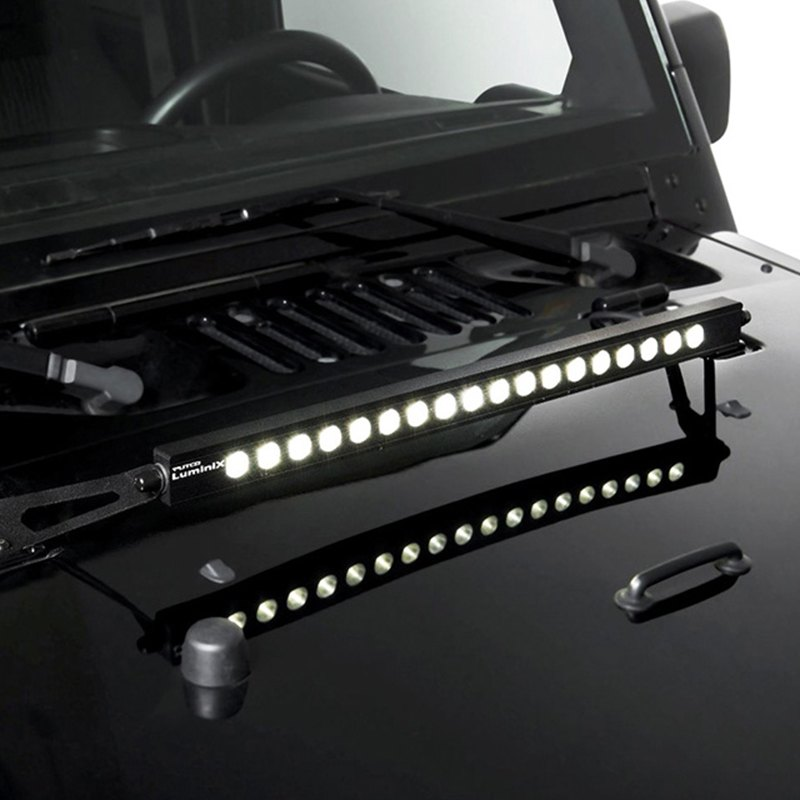 "High Power 200w 20 Inch Jeep Accessories Led Light Bar For: Jeep Wrangler 2007-2017 20"" Luminix Single Row"