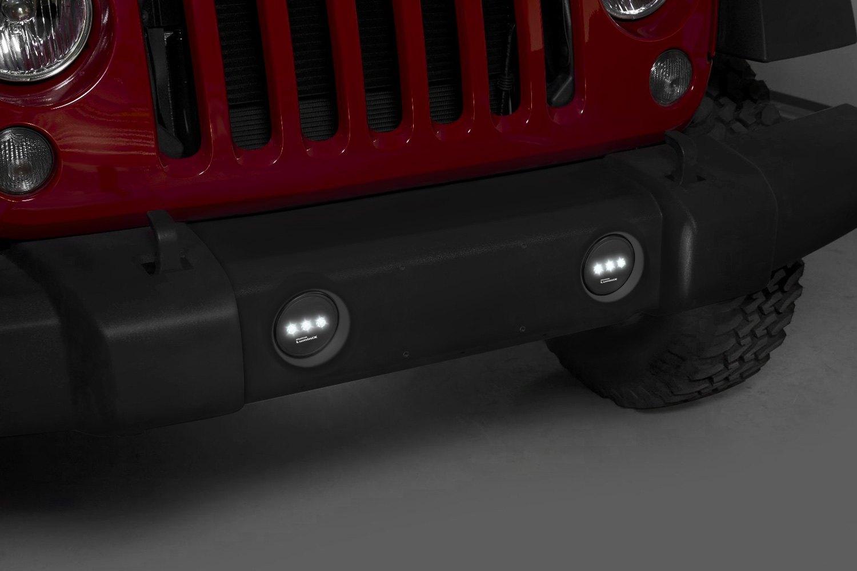 For Jeep Wrangler Putco Luminix Led Fog Lights Ebay