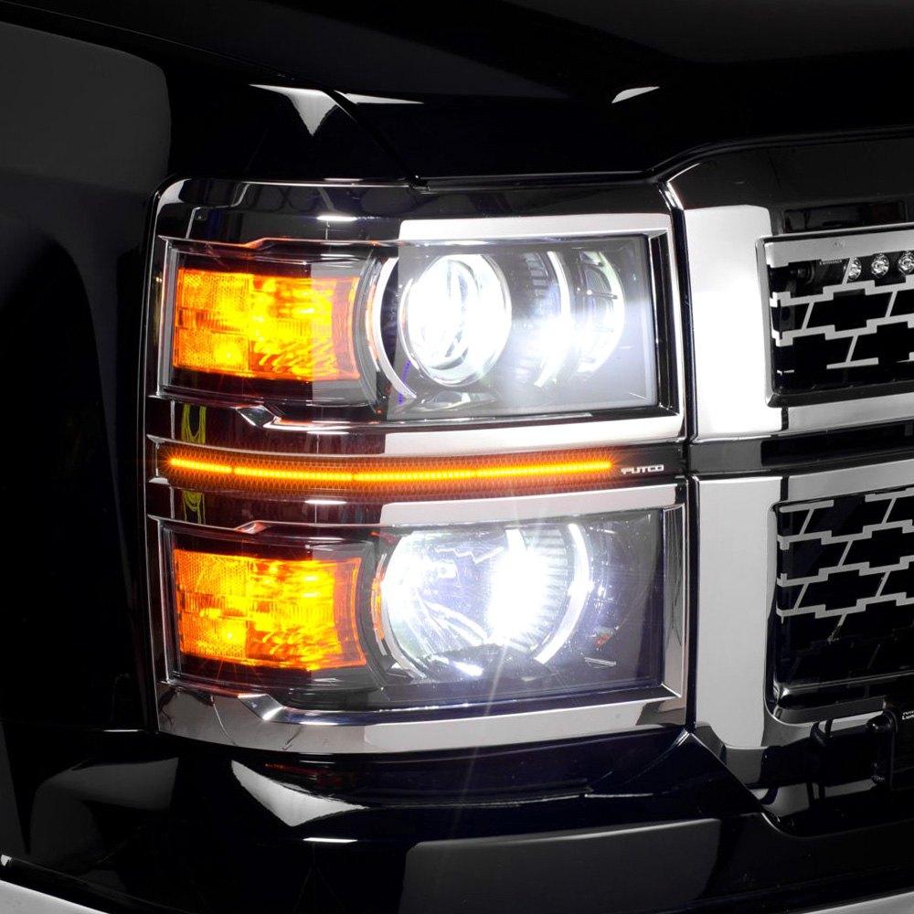 Putco Chevy Silverado 2014 Led Dayliners G3 Switchback