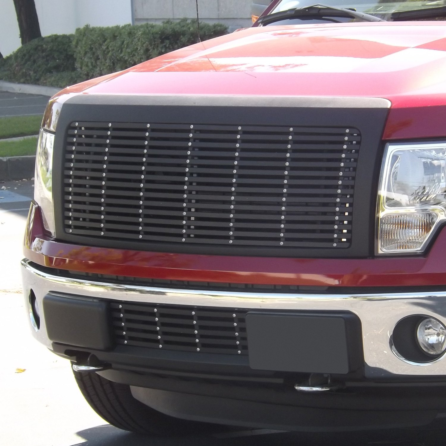 grilles grille billet ford 150 pxd matte pc grill fits following main