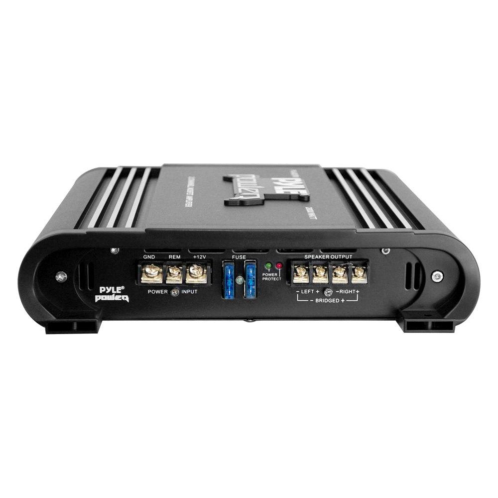 pyle pla2378 power series class ab 2 channel 2000w amplifier. Black Bedroom Furniture Sets. Home Design Ideas