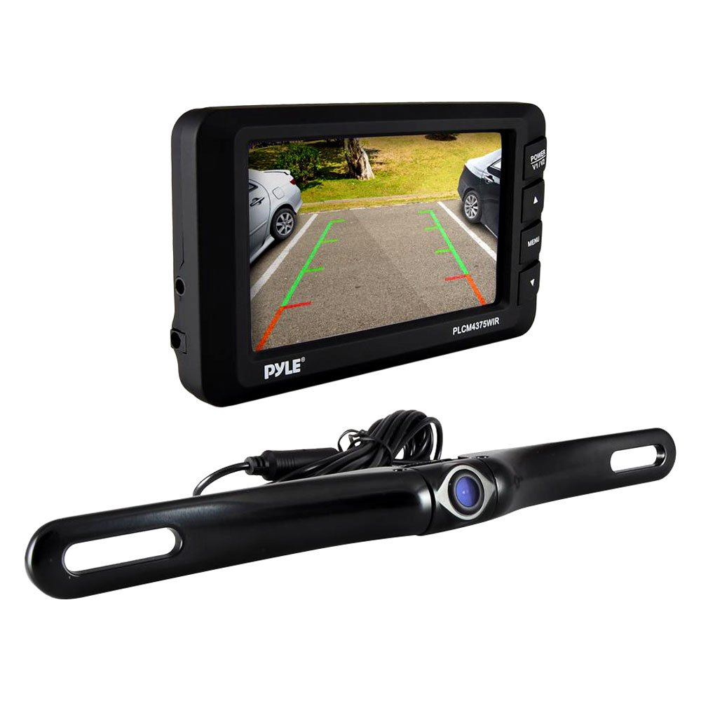Pyle Backup Camera >> Pyle® PLCM4375WIR - Wireless Night Vision Waterproof Rear View Camera and 4.3'' Monitor