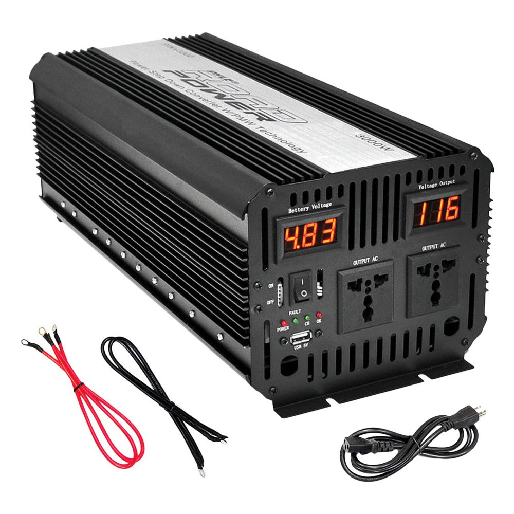 pyle pinv series dc ac power inverter with usb. Black Bedroom Furniture Sets. Home Design Ideas