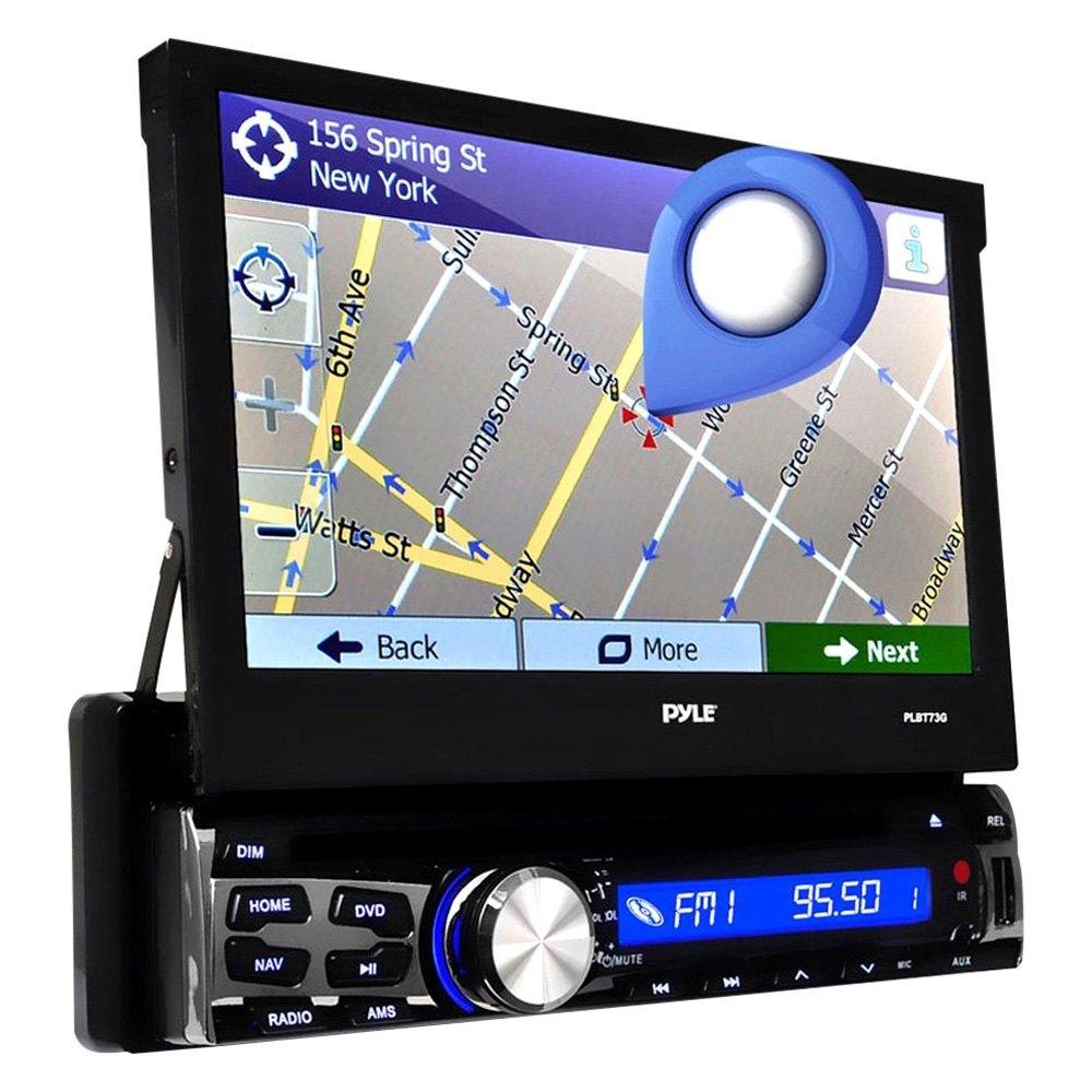 Pyle® PLBT73G - Single DIN DVD/CD/AM/FM/MP3/