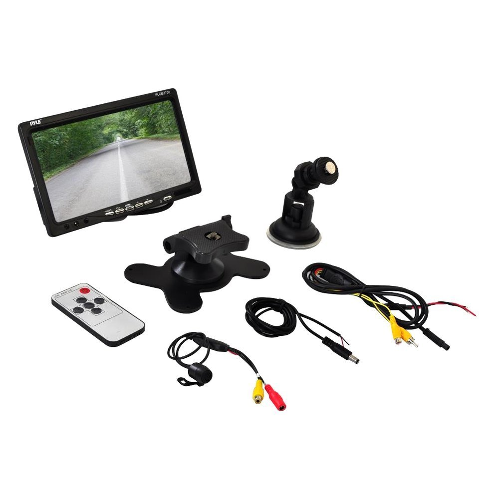 pyle� - rear view system with built-in 7
