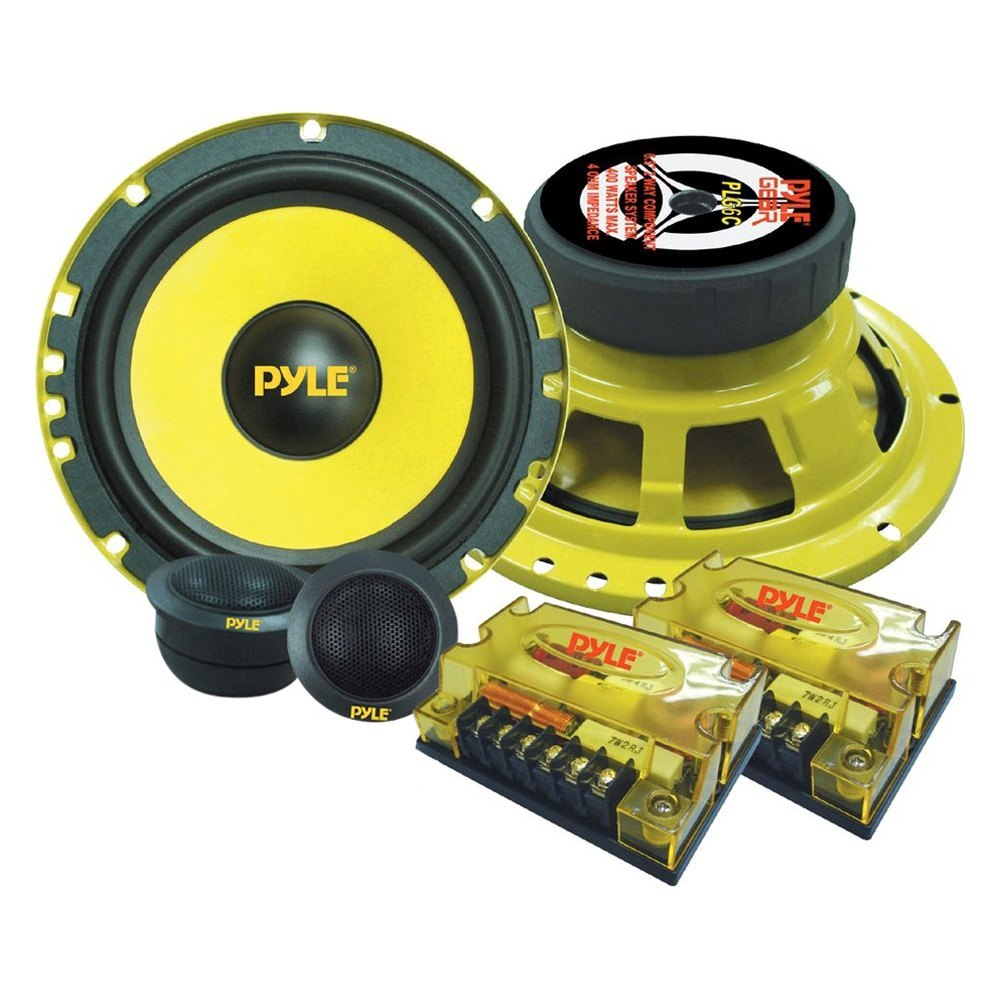 Pyle Plg6c 6 1 2 Way Gear Series 400w Component Speaker System Coaxial Wiring Diagram