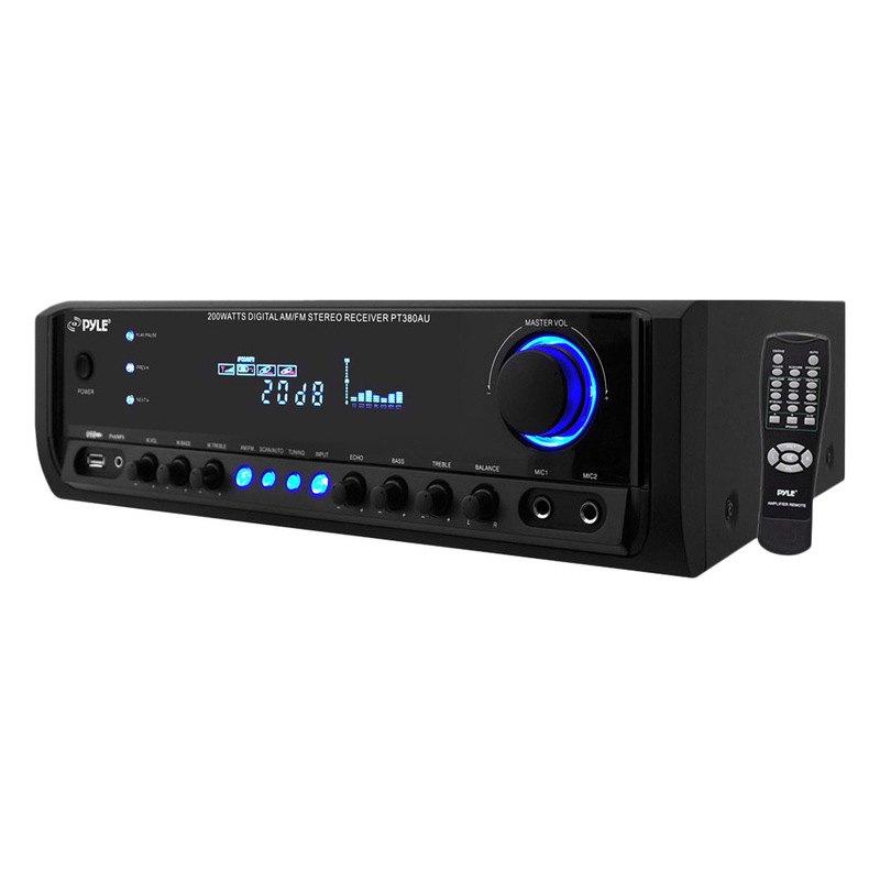 Pyle 200w Digital Home Stereo Receiver System W Usb Flash Reader 41114474585 Ebay