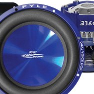 Pyle® - Blue Injection Molded Cone DVC Subwoofer