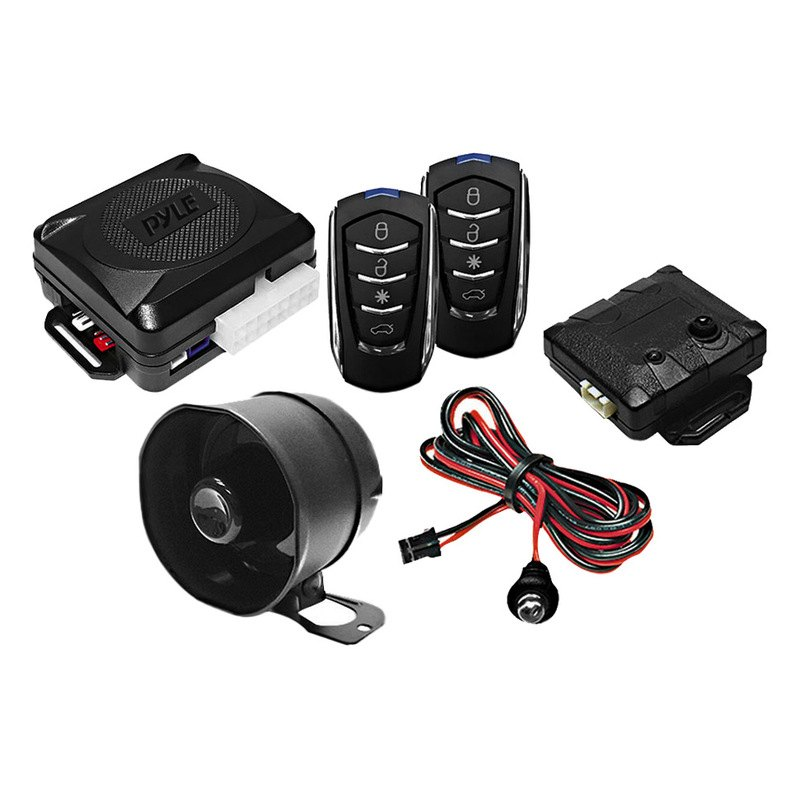 Pyle Door Lock Vehicle Security System With 4 Button Car