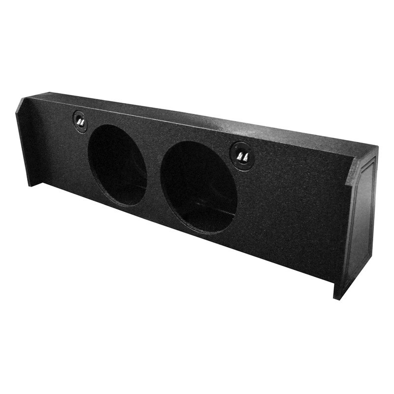"""Qpower QBFORD122009DF Dual 12/"""" Empty Woofer Box For 2009-14 Ford F150"""