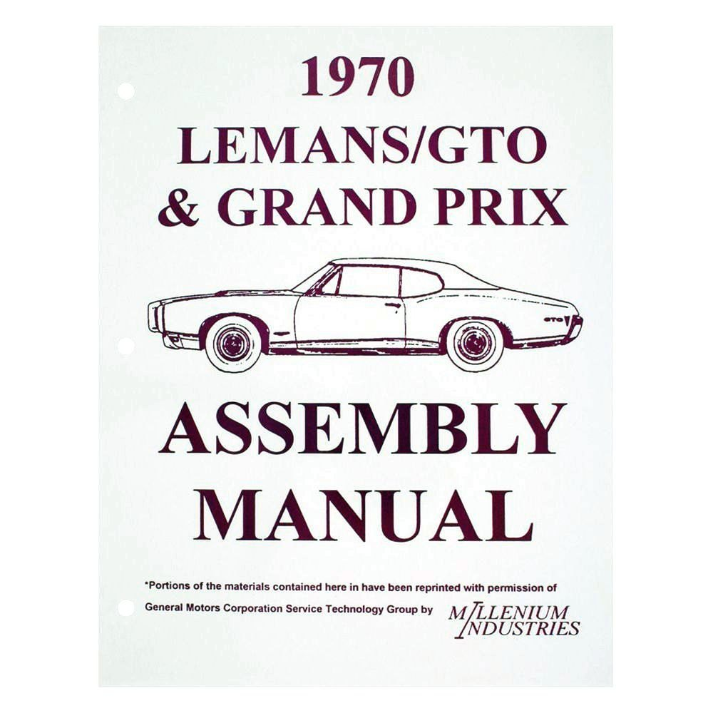 1970 Pontiac Gto Le Mans Tempest Wiring Diagrams
