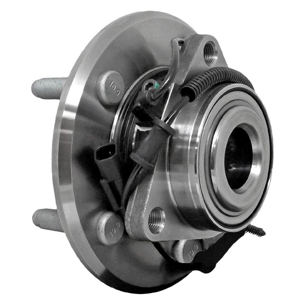 front wheel bearing and hub