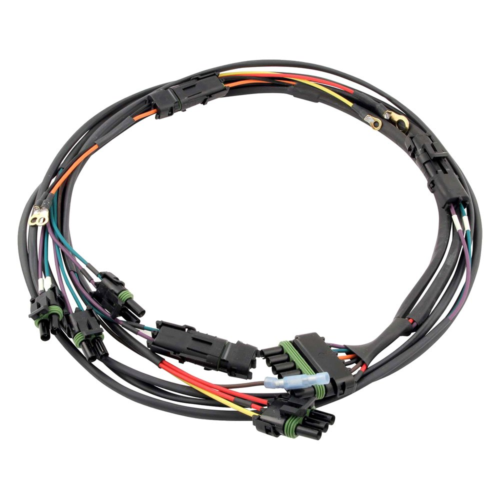 quickcar racing® 50-2034 - dual pickup distributor ... 3 wire molex wire harness wire harness racing #9