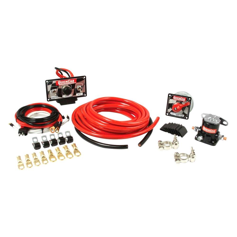 Race Car Wiring For Gauges Great Design Of Diagram Dash Quickcar Racing U00ae 50 232 Premium 4 Gauge Kit Trailer Basic