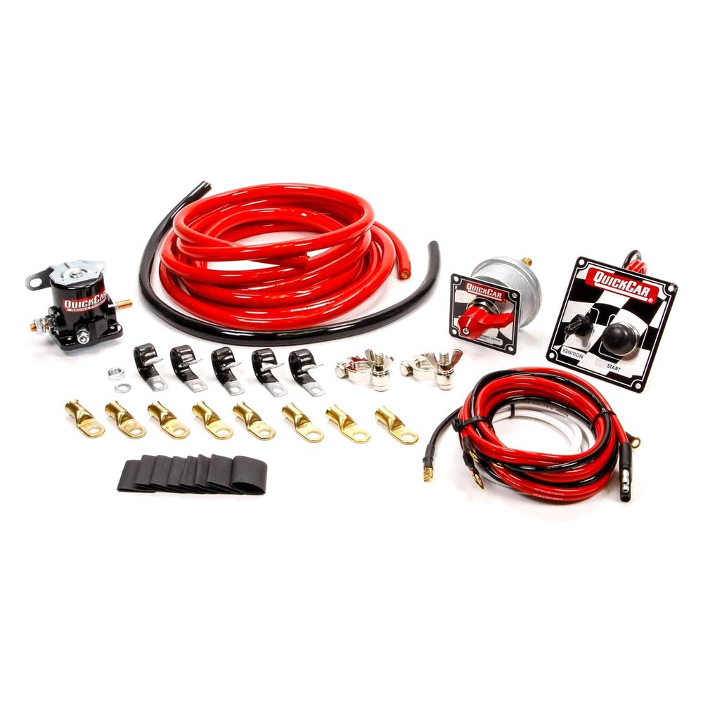 quickcar racing product 174 50 235 wiring kit 4 with 50 102 panel