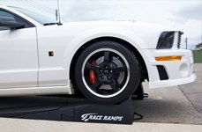 Race Ramps® - Ford Mustang on Race Ramps