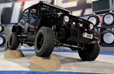 Race Ramps® - Jeep Wrangler on Show Rock