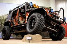 Race Ramps® - Tuned Jeep Wrangler on Show Rock