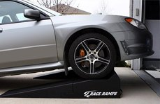 Race Ramps® - Subaru Impreza on Scale Ramps