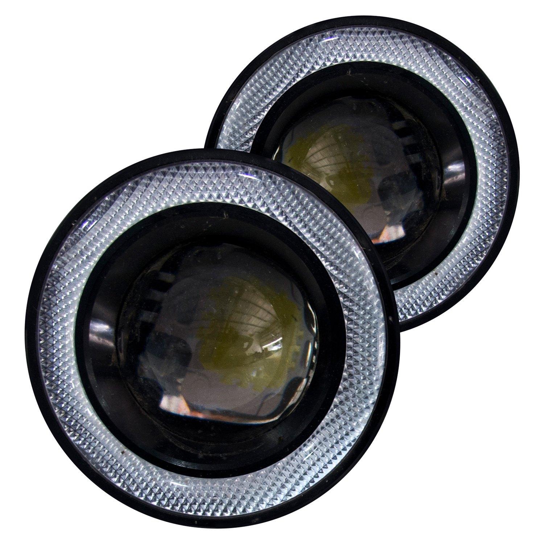 race sport rs 3w fog 3 round projector led fog lights. Black Bedroom Furniture Sets. Home Design Ideas