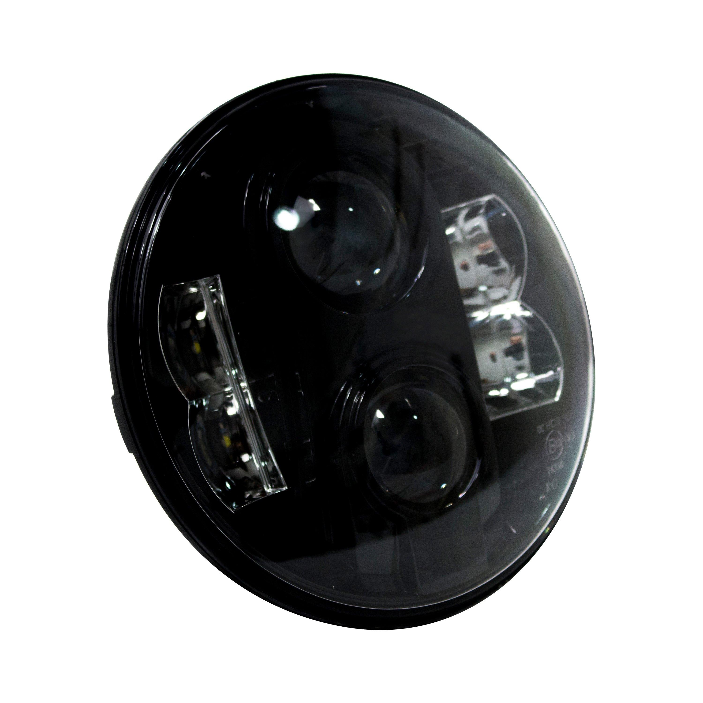 race sport rs 7led8x10hlb 7 round black projector led. Black Bedroom Furniture Sets. Home Design Ideas