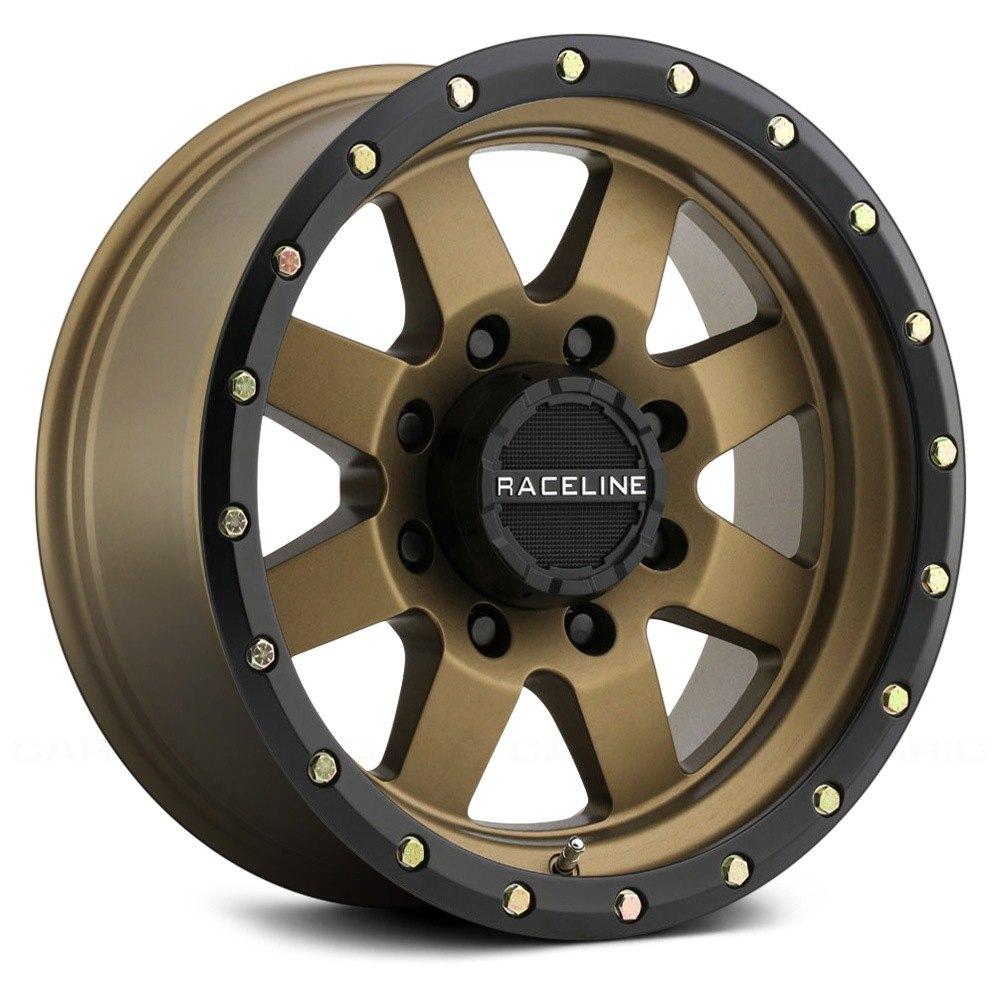 Raceline 174 Defender Wheels Bronze Rims