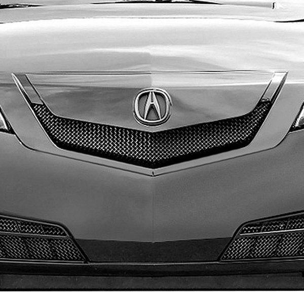 Acura TL 2009-2011 2-Pc Standard Weave Silver