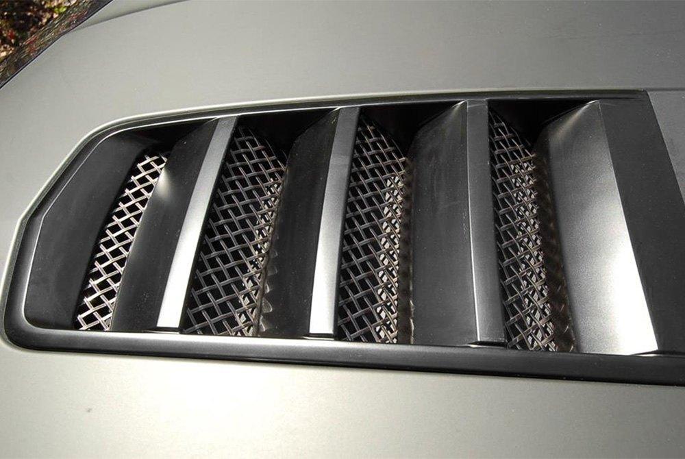 Mustang Performance Parts >> RaceMesh® RMGCAMAROHV - 1-Pc Standard Weave Black Mesh ...