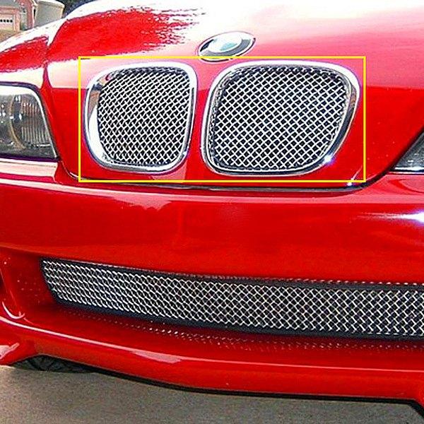 Bmw Z3 Specialist: BMW Z3 1998-2002 2-Pc Standard Weave Chrome