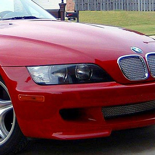 Bmw Z3 Body Panels: BMW Z3 1998-2002 2-Pc Standard Weave Chrome