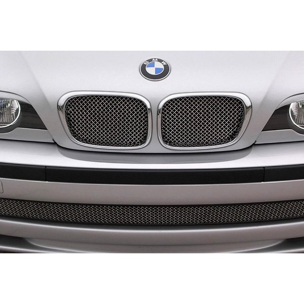 BMW 5-Series 2002 2-Pc Standard Weave Chrome