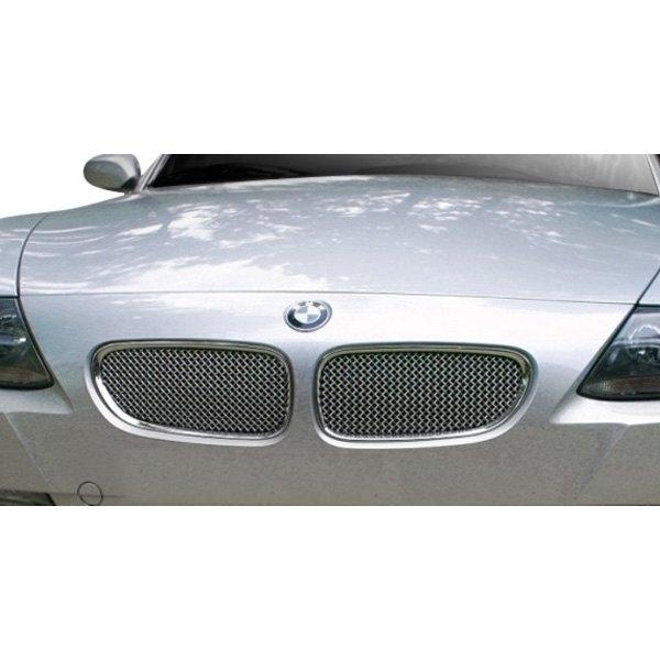 Bmw Z4 2 2 Review: BMW Z4 2006 2-Pc Standard Weave Chrome Mesh Grille