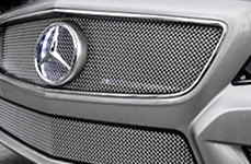 RaceMesh Grille on Mercedes