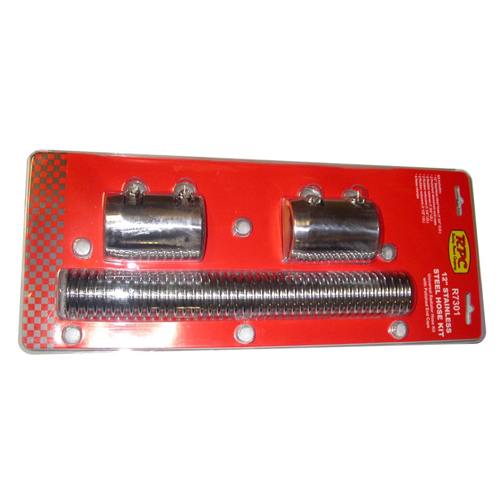Racing Power Company® - Stainless Steel Radiator Hose Kit  sc 1 st  CARiD.com & Racing Power Company® R7301RED - Stainless Steel Radiator Hose Kit