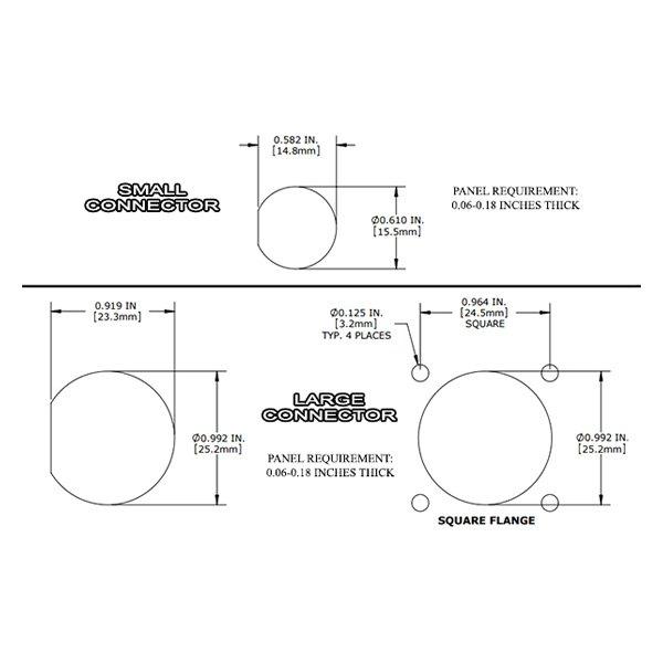 Radium 17 0023 Internal Bulkhead Harness