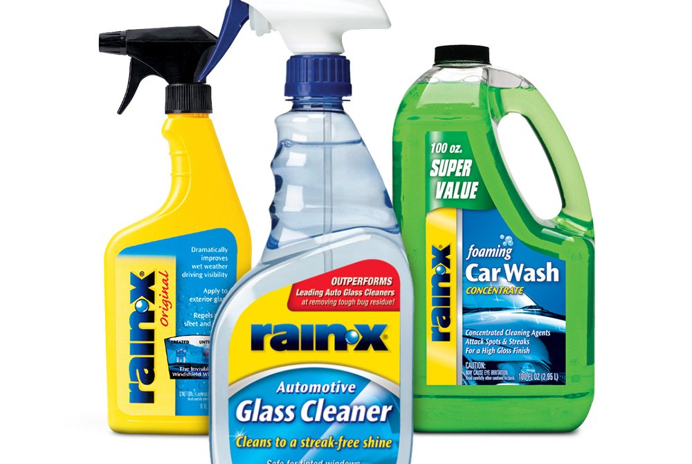 Rain-X™ | Glass Repellent, Wiper Blades, Car Care Products - CARiD com