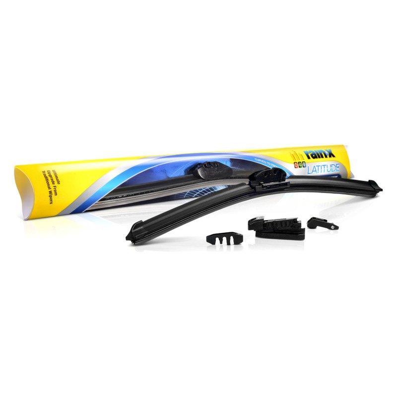 Rain X 5079277 1 Latitude 8 In 1 20 Black Wiper Blade