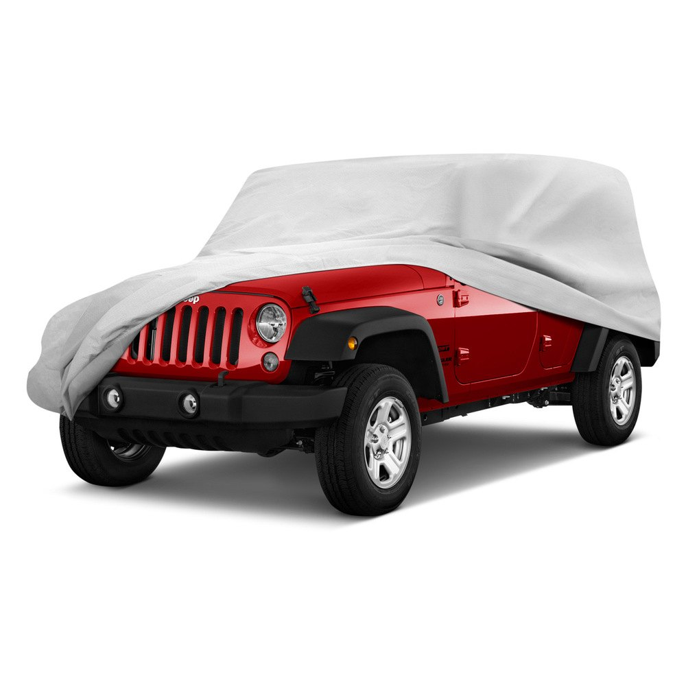 rampage jeep wrangler 2006 custom fit 4 layer breathable car cover. Black Bedroom Furniture Sets. Home Design Ideas