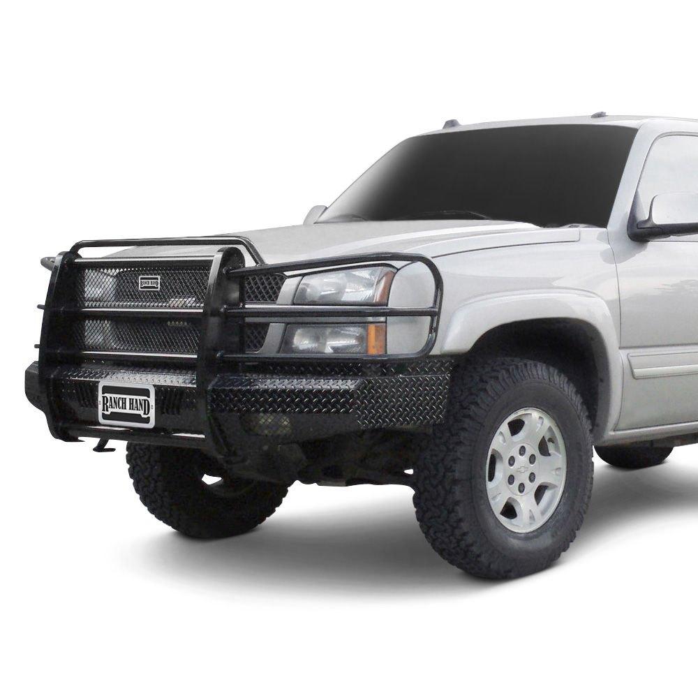 Heavy Duty Front Steel Bumper With Winch Mount Da5645 For: Ranch Hand FSC03HBL1