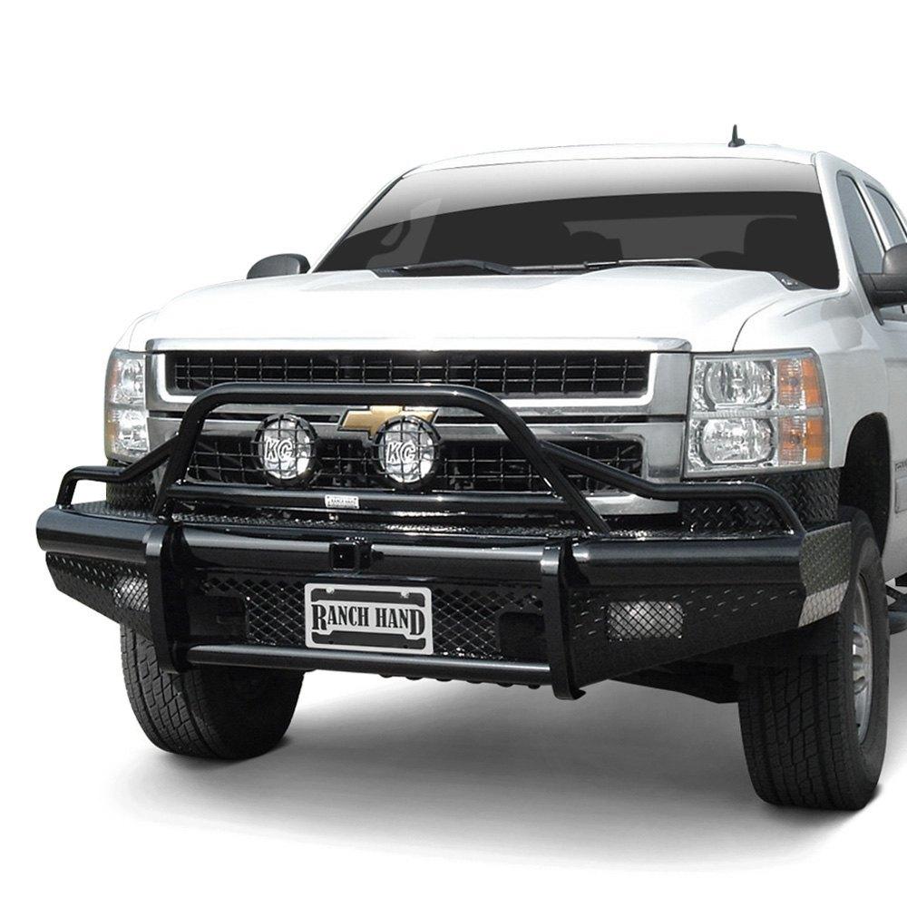 Heavy Duty Front Steel Bumper With Winch Mount Da5645 For: Ranch Hand BTG151BLR