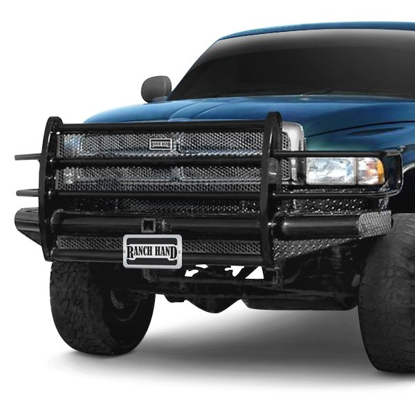 Ranch Hand® - Dodge Ram 1999-2001 Legend Series Full Width Black Front HD Bumper with Full ...