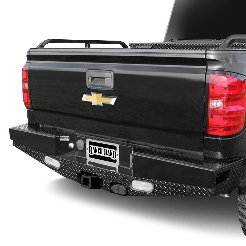 ranch hand gmc sierra 2014 sport series full width rear hd bumper. Black Bedroom Furniture Sets. Home Design Ideas